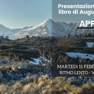 """Presentazione del libro """"Appennino"""" // con Augusto Ciuffetti"""