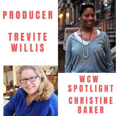 Producer Trevite Willis & Her Docu Black Voters Matter / WCW Spotlight Member Christine Baker