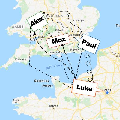 667. Four Way Call (with Alex, Moz & Paul)