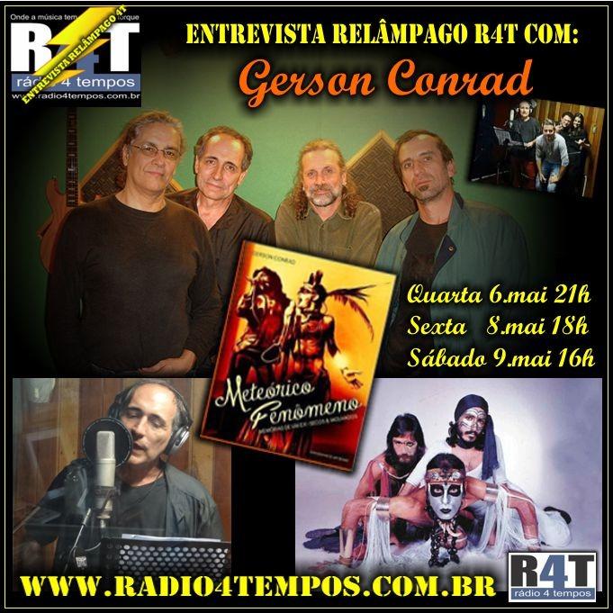 Rádio 4 Tempos - Entrevista Relâmpago 06