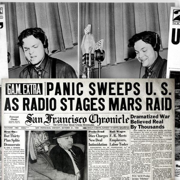The War of the Worlds - Mercury Theater of the Air - Orson Welles - The Famous Show that Terrified the Nation!