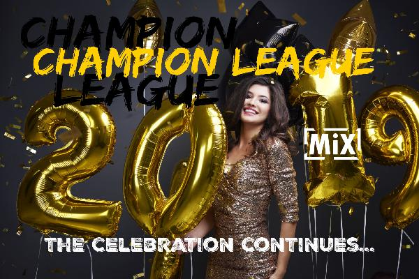 Champion League // The celebration continues   2019 // Soca +