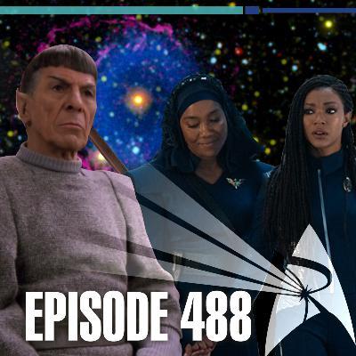 488 - Books, Booker, and Saint Bernards | Priority One: A Roddenberry Star Trek Podcast