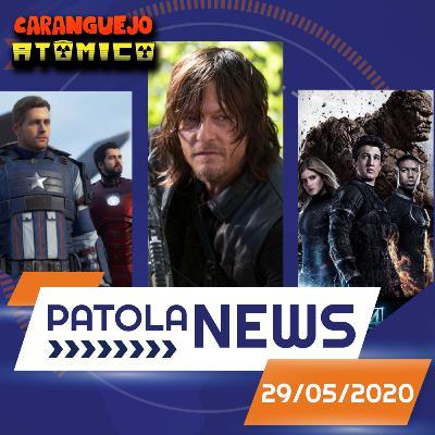 PATOLA NEWS 29/05/2020 | Jogo dos Vingadores, The Walking Dead e Jason Bourne