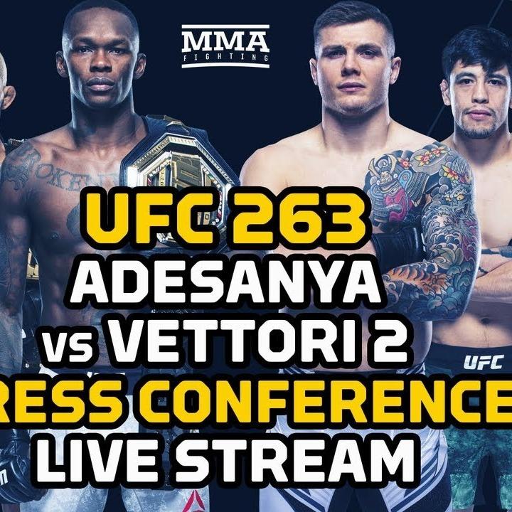 how to watch ufc 263 adesanya vs vettori 2 live stream free online