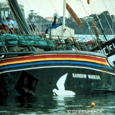 Episode 10: Bombing of the Rainbow Warrior