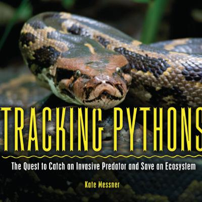Author Kate Messner Shares Details about Her Fascinating Books, Tracking Pythons and Tracking Tortoises