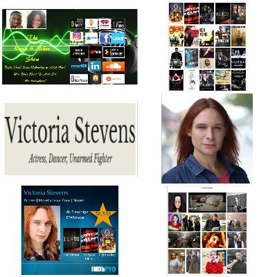 The Kevin & Nikee Show  - Victoria Stevens  - Actress, Model, Makeup Artist, Dancer, Unarmed Fighter, Editor, Sketch Artist and Writer