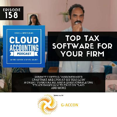 Tax Software Ranked & Summit Hosting Ransomwared