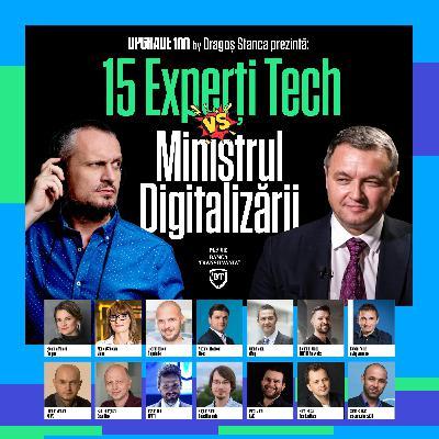 #84 EDIȚIE SPECIALĂ. 15 experți tech îi pun întrebări-cheie noului Ministru al Digitalizării, Ciprian Teleman