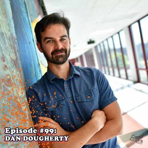 Episode #99: Dan Dougherty - Comic Book Writer/Artist of 'Beardo' and 'Touching Evil', Writer of 'Floppy Cop', Illustrator of 'Cosa Nostra'