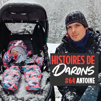 Antoine, papa dans une maison de naissance au Québec
