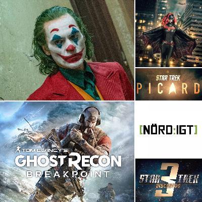 268. Den med Ghost Recon: Breakpoint, Batwoman och The Joker