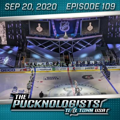 The Pucknologists 109 - 2020 NHL Playoffs Round 3 Wrap-Up, Rooting for Joe Pavelski
