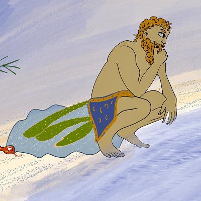 Gilgamesh Part 6 - the Plant of Immortaliy