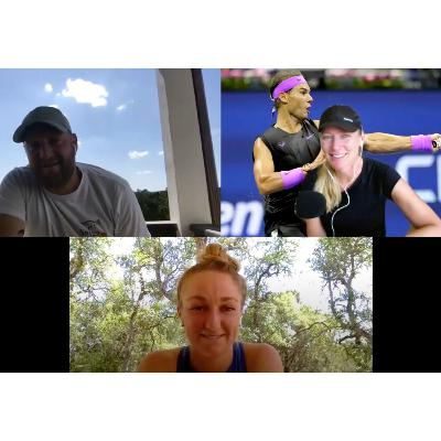 Interview with Tennis Professional Catherine Harrison (#264 Singles, #194 Doubles) and her Coach Damien Spizzo: Addicted to Sets Gives Back during Covid-19