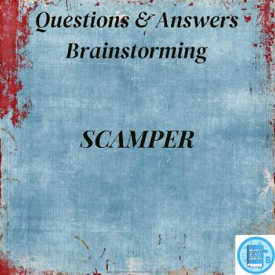 Questions & Answers | Brainstorming Techniques | S.C.A.M.P.E.R. - Improving On Ideas