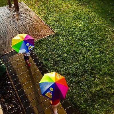 """""""Gaudi"""" haben beim Regenlaufen AKA Laufen im Juli 2021"""