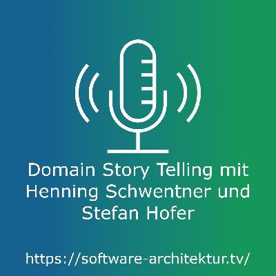 Domain Story Telling mit Henning Schwentner und Stefan Hofer
