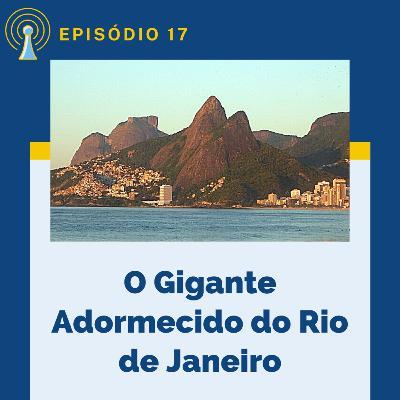 Gigante Adormecido e as montanhas do Rio de Janeiro