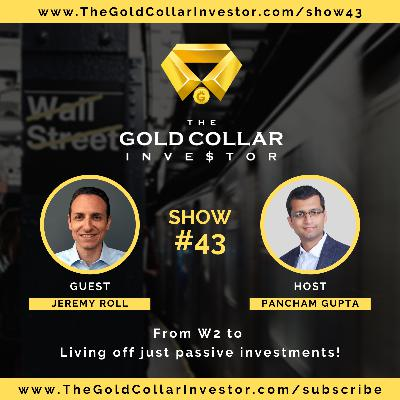 TGCI 43: From W2 to living off just passive investments. Yes, Financial Independence!