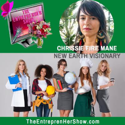 Chrissie Fire Mane, New Earth Visionary, Shamanic Psychotherapist and Lead Healer of Lost Resort TBS