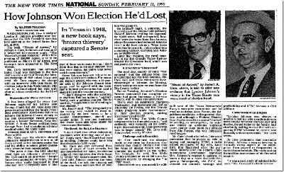 This was not the first stolen election in US history: Guest: Ron Kennedy