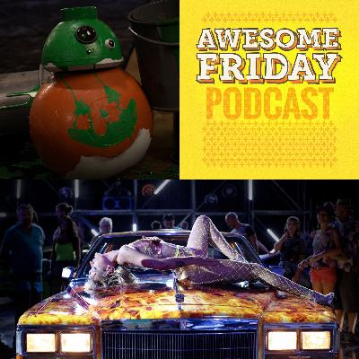 Episode 12: Awesome Friday Movie Podcast: 'Lego Star Wars Terrifying Tales' & 'Titane'