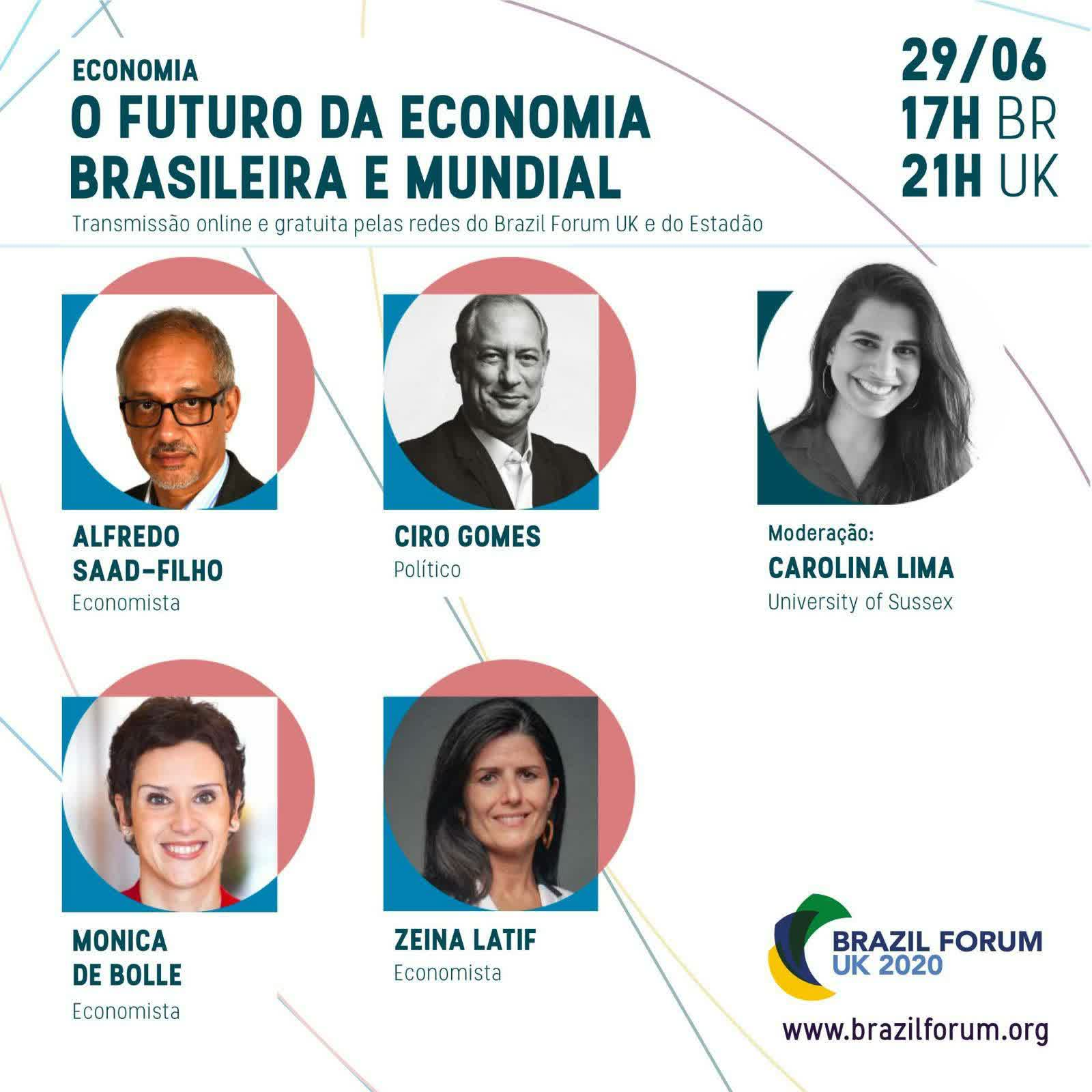 29/06/2020   Ciro Gomes participa de debate no BRAZIL FORUM UK 2020