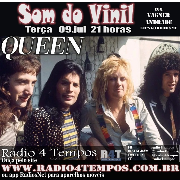 Rádio 4 Tempos - Som do Vinil 09:Rádio 4 Tempos
