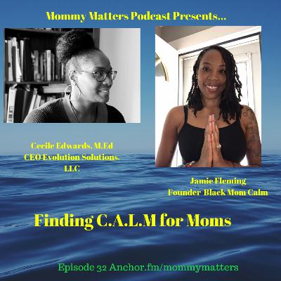 Finding C.A.L.M for moms with Jamie Fleming