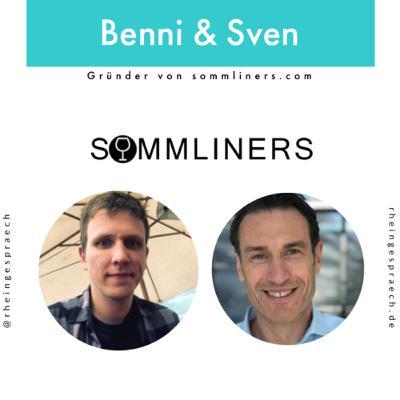 Folge 02.01: Wie funktioniert Wine-Tasting in Zeiten von Corona? - Benni & Sven: Gründer von sommliners.com