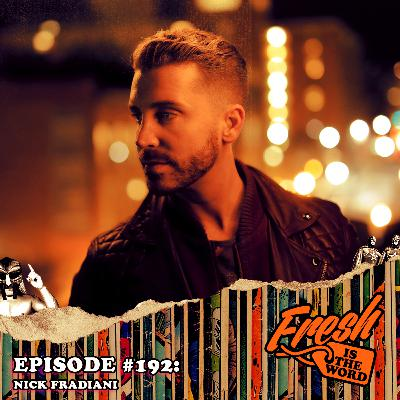 Episode #192: Nick Fradiani – 2015 American Idol Winner, Now Playing Lorenzo in the National Touring Production of A Bronx Tale: The Musical, Playing Detroit's Fisher Theatre Starting January 21st