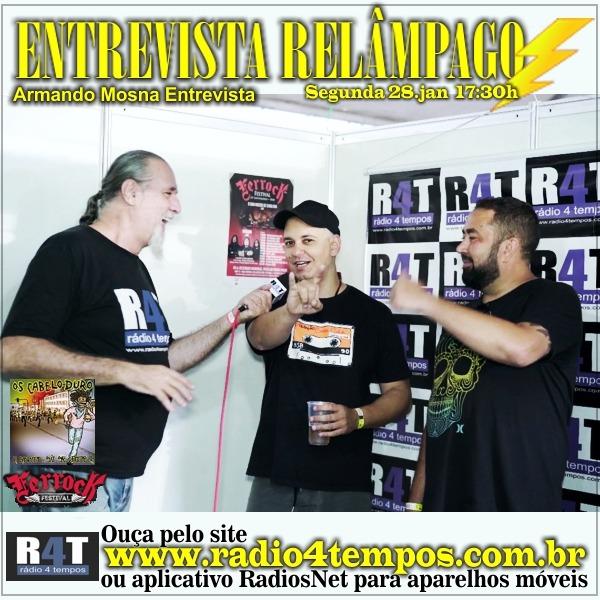 Rádio 4 Tempos - Entrevista Relâmpago 73