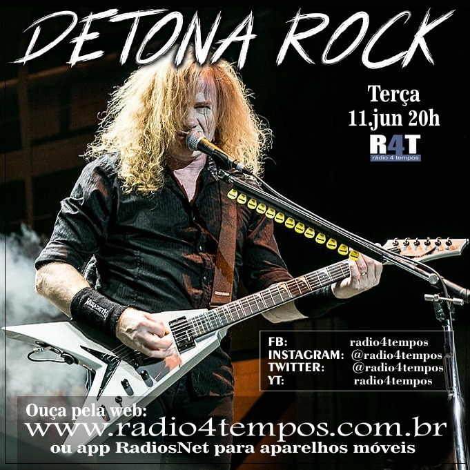 Rádio 4 Tempos - Detona Rock 15:Rádio 4 Tempos