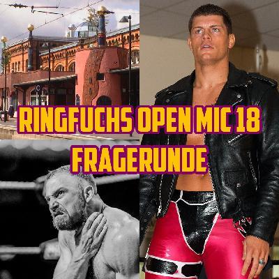 Ringfuchs Open Mic #18 – Große Fragerunde!