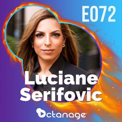 Ou Tudo ou Nada! De Imigrante em NY ao Mercado de Luxo com Luciane Serifovic | Luxian E072