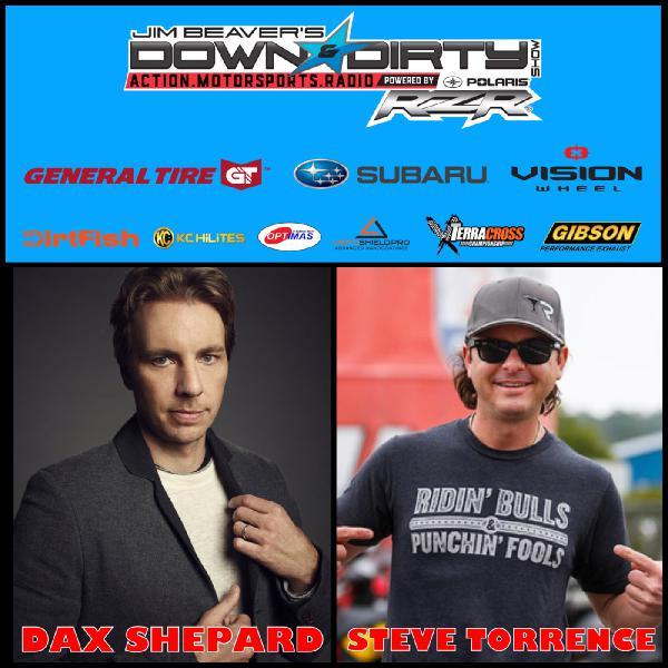 Dax Shepard & Steve Torrence On Air!