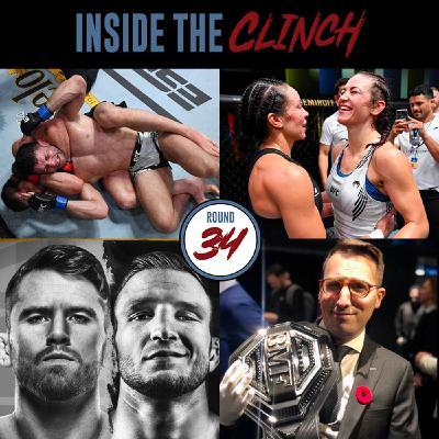 Round 34 - UFC Vegas 31 & 32, Conor McGregor, & more with TSN's Aaron Bronsteter