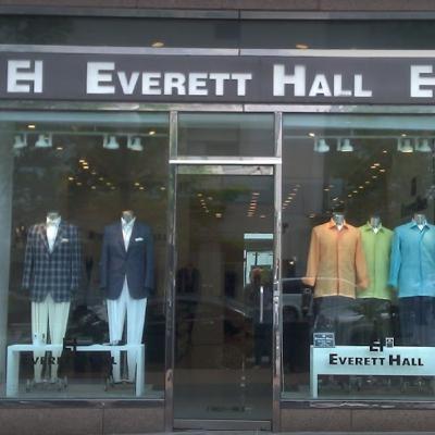 Everett Hall ~ Celebrity Designer, Tailor ~ CNN, Wall Street Journal, E!, GQ