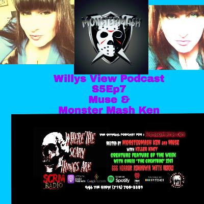 """💻 S5Ep7 : EXCLUSIVE Q&A with Muse & Monster Mash Ken of """" Where The Scary Things Are """" Podcast"""