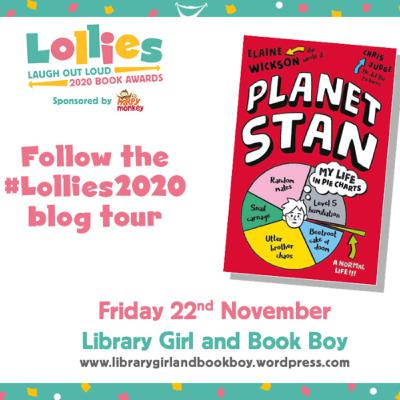 The Laugh Out Loud Book Award Special - 'Planet Stan' by Elaine Wickson, illustrated by Chris Judge.
