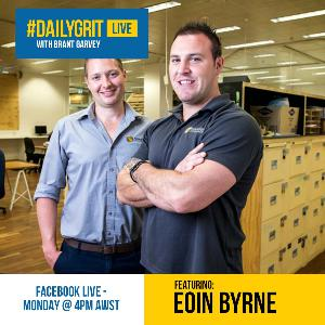 EP006 Why Not Me with guest Eoin Byrne - The No Xcuses Show