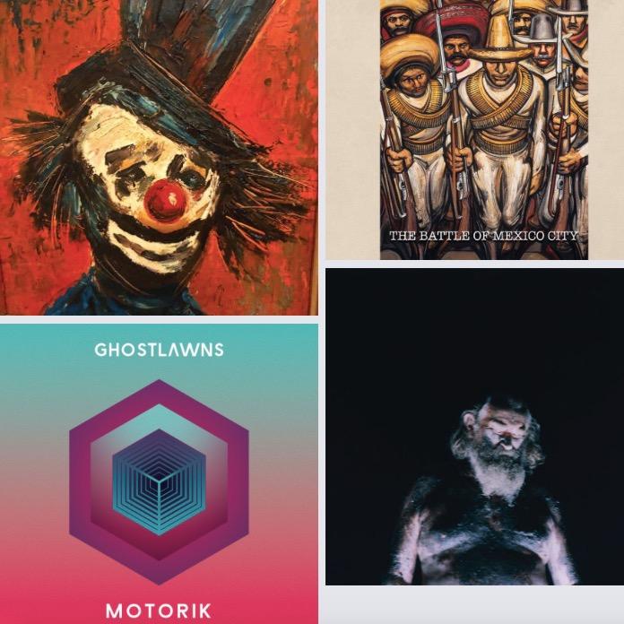 Top 10 des sorties d'albums du 30/10/20 pop/folk/rock/electro/jazz/funk/soul #109