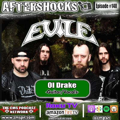 Aftershocks TV | Evile Guitarist Ol Drake