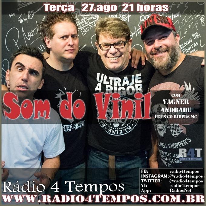 Rádio 4 Tempos - Som do Vinil 12:Rádio 4 Tempos