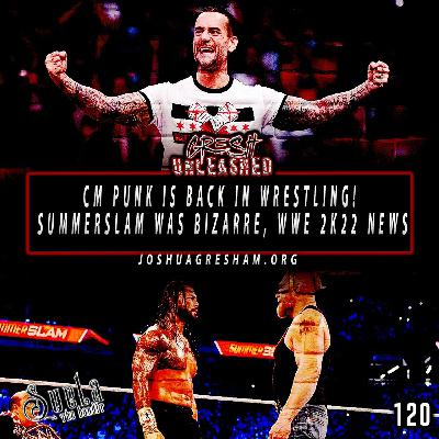 CM Punk is Back! Thoughts on the Odd Summerslam, WWE 2K22 Not Coming Out This Year and more!   120