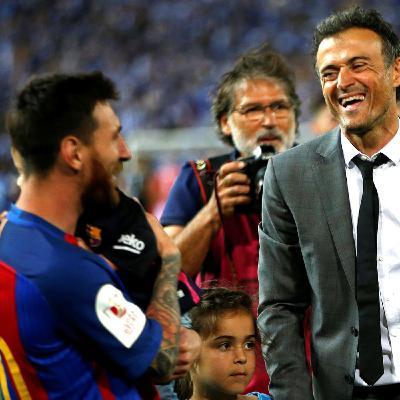 Messi y los entrenadores