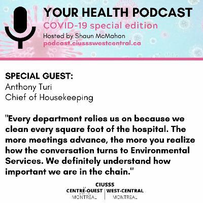 COVID - 19 - Anthony Turi - E080 - Your Health Podcast