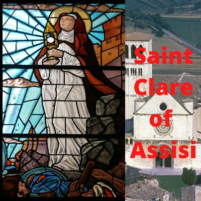 Saint Clare of Assisi was the first female member of the Franciscan community.